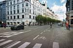 Návrh se snaží kultivovat charakter, vytvořit příjemné městské prostředí. Z hlediska úprav je navrženo doplnění stromořadí na východní straně ulice, jsou doplněny cyklopruhy v obou směrech a dochází ke zkrácení přechodů pro zlepšení bezpečnosti chodců.
