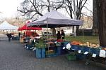 Karlínské farmářské trhy.