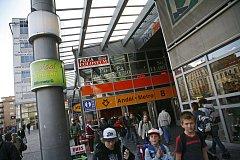 Stanice metra Anděl.