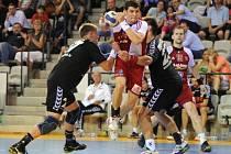 POVINÝ ÚSPĚCH. Zápasy s outsidery bývají ošidné, Češi ten svůj s Lotyši zvládli.