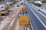 Rekonstrukce dálnice. ilustrační foto.