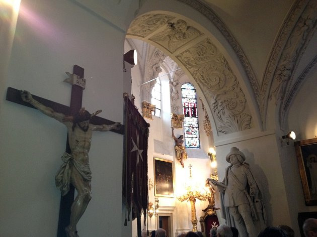 Kostel Panny Marie Pod řetězem.