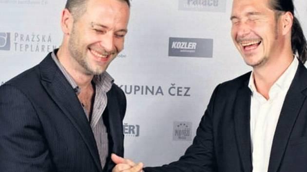 Zakladatelé festivalu Mental Power Patrik Henel a David Sychra.