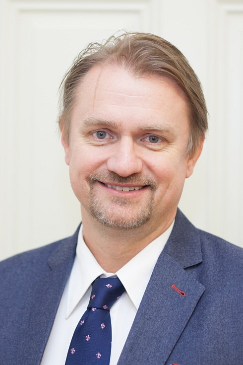 Proděkan 1. LF UK doc. MUDr. René Foltán