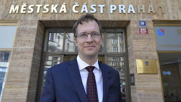 Starosta Prahy 1 Pavel Čižinský na snímku z 23. července 2019.
