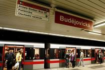 Zastávka metra Budějovická. Ilustrační foto.