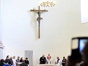 Ekumenická bohoslužba za duchovní péči v českých nemocnicích se uskutečnila v kostele Milosrdných sester sv. Karla Boromejského.