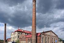 Stará čistírna v Praze-Bubenči.