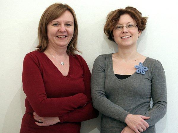 Spoluzakladatelky firmy Sweeter Marcela Hájková (vlevo) a Ida Kupsová.