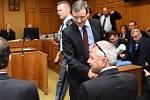 David Rath a Martin Houdek u Krajského soudu v Praze.