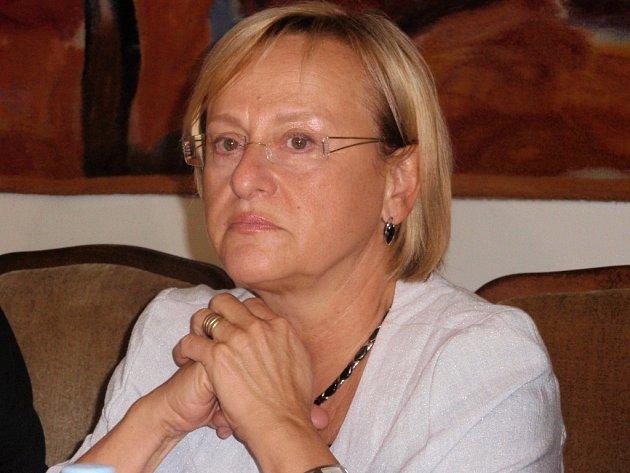 Hana Roháčová, primářka Kliniky infekčních, parazitárních a tropických nemocí z Nemocnice Na Bulovce v Praze.
