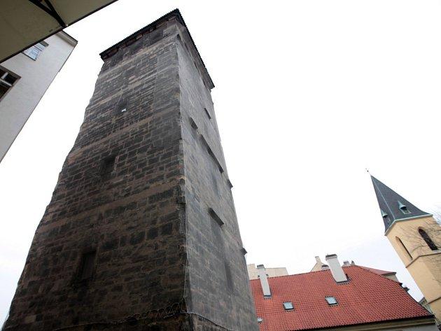 Novomlýnská vodárenská věž v Praze.