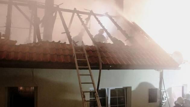Propadlá střecha. Ilustrační foto