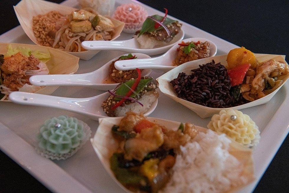 Thajská kuchně.