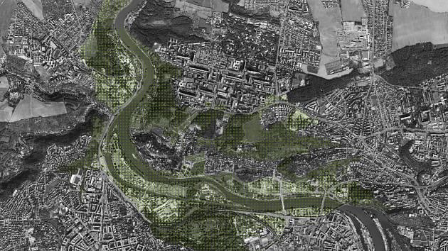 Území příměstského parku Trojská kotlina.