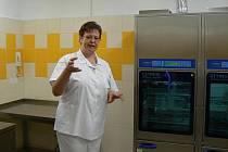 V pavilonu B1 v Thomayerově nemocnici v Krči bylo 25.května otevřeno nové pracoviště centrální sterilizace.
