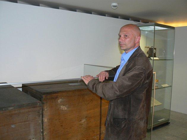 Martin Sekera u beden s tajemným odkazem vědce Bohuslava Jiruše.