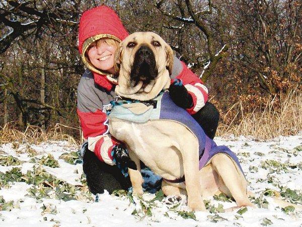 Provozovatelkou městského útulku pro psy Lesan vKralupech nad Vltavou na Mělnicku je Monika Kolková.