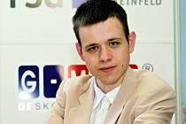 Pražský šachista David Navara.