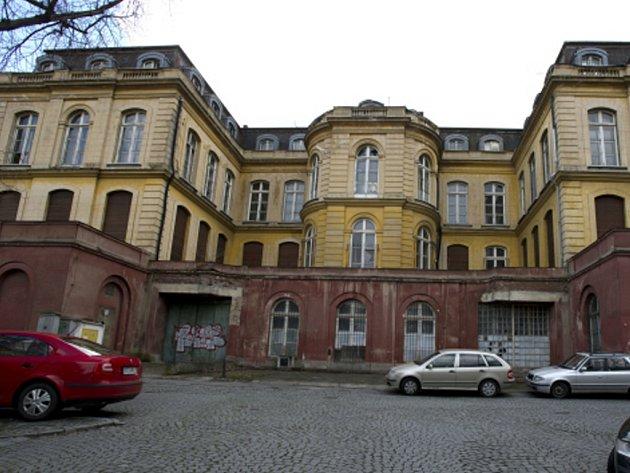 Budova Památníku národního písemnictví.