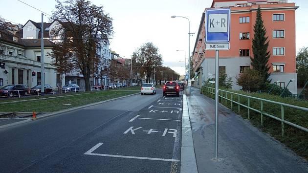 Parkovací místo K+R.