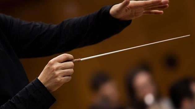 Dirigent. Ilustrační foto.