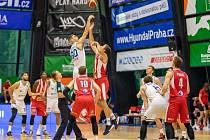 1. kolo Kooperativa NBL: USK Praha - Pardubice 69:99.
