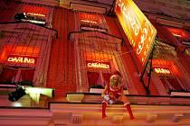 Kabaret Darling v ulici Ve Smečkách.