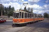 Tramvaj KT4 v Berlíně na archivní fotografii. Ilustrační foto.