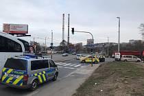 Tragická dopravní nehoda v Michli.