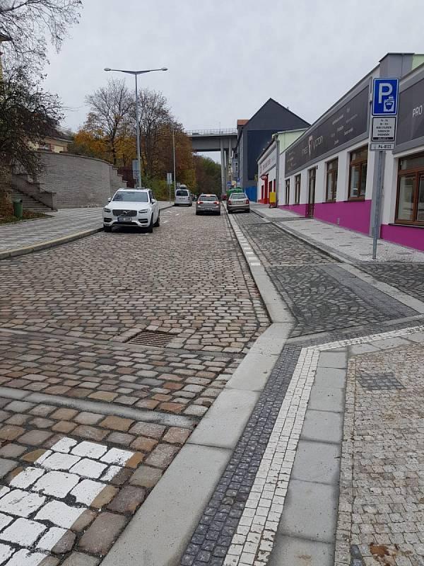 Opravené ulice v Praze. Křesomyslova.