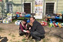 Organizace Psí život očkovala psy lidí bez domova.