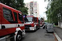 Požár bytu