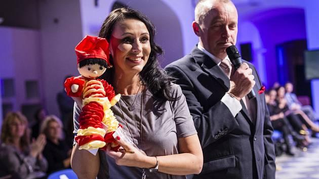 Zpěvačka Heidi Janků představila svou panenku Paňác Pepíno.
