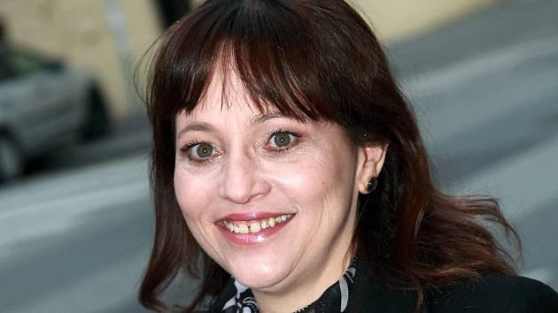 Herečka Alena Mihulová.