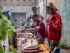 Piknik pro lidi bez domova proběhl 16. srpna v Praze.
