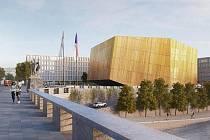 Navrhnout novou koncertní síň si zkusili studenti architektonických škol v rámci školních prací. Lokalitu Vltavské použil pro návrh student FA ČVUT Stanislav Bažant.