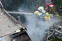 Požár způsobil téměř milionovou škodu