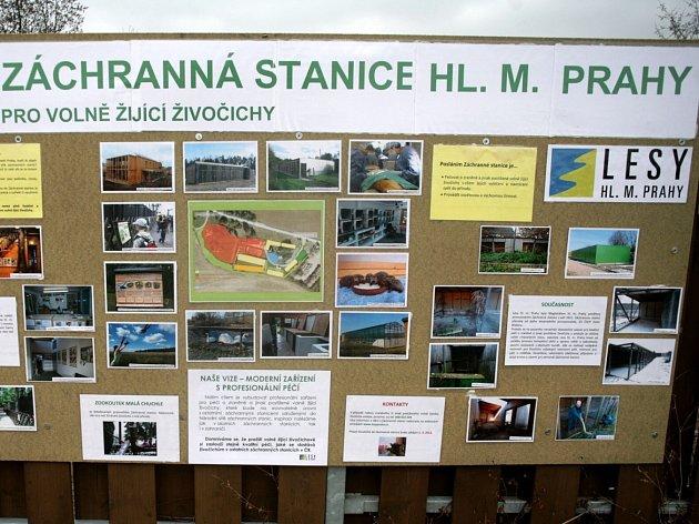 Záchranná stanice Jinonice. Ilustrační foto.