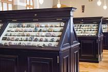 Národní muzeum se opět otevírá návštěvníkům. Čeká na vás spousta výstav a expozicí - na snímku Sál minerálů.