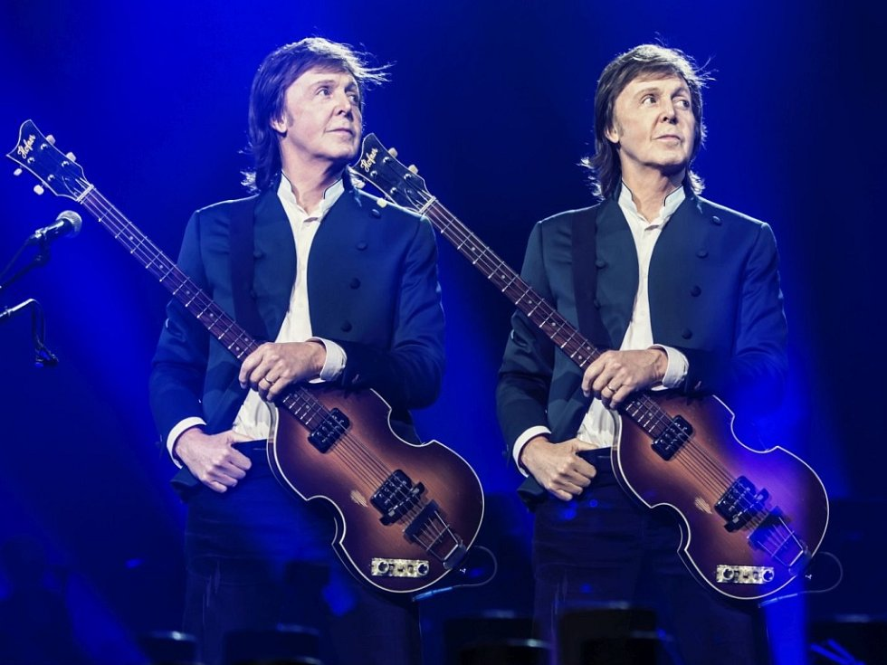 Někdejší člen slavné britské skupiny Beatles Paul McCartney.