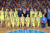 Basketbalistky USK. Ilustrační foto.