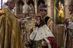 Rekonstrukce korunovace Karla IV