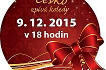 Česko zpívá koledy - 9. prosince 2015 od 18 hodin.