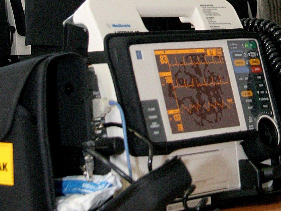 Defibrilátor Ilustrační foto