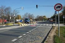 Českobrodská ulice v oblasti Jahodnice.