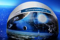 Mobilní planetárium metronome.
