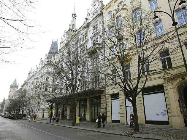 Část Pařížské ulice v Praze.