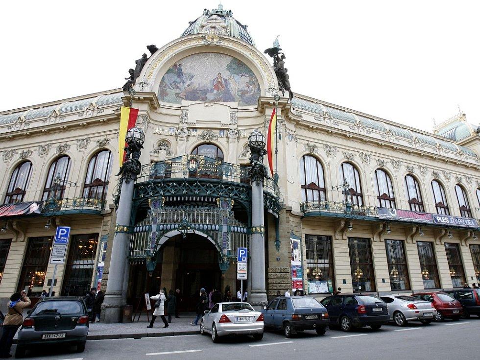 Obecní dům v Praze.