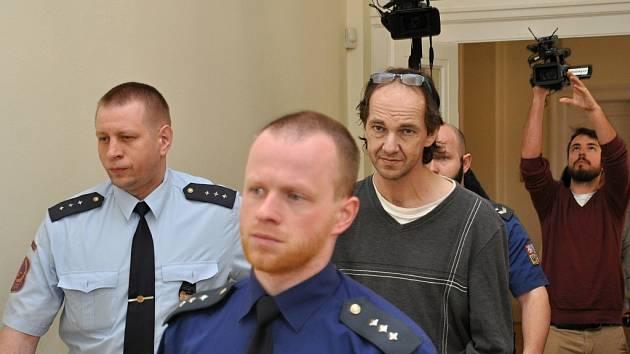 Milan Balamuta u Městského soudu v Praze.